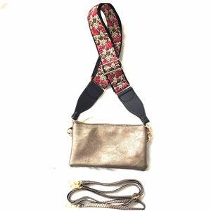 Handbags - Crossbody w/Guitar Strap, Shoulder & Wristlet